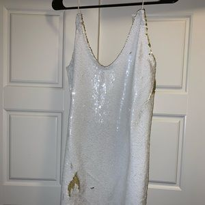 Free people sequin dress sz small NWT